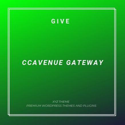 Give CCAvenue Gateway 1 0 4