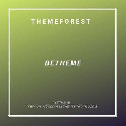 BeTheme 21 3 1 1 – Responsive Multi-Purpose WordPress Theme